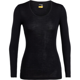 Icebreaker 175 Everyday LS Scoop Top Women black